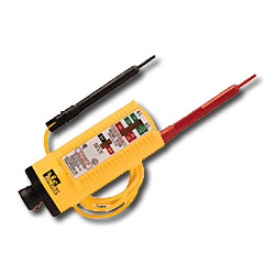 Ideal Solenoid Voltage Tester with 2 Standard Prods