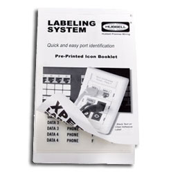 Hubbell XPert Pre-Printed Labels (5 Books)
