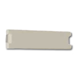 Hubbell Infin-e-Station Blank Module - 0.5 Unit (Packs of 5)