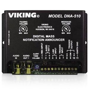 Viking Digital Mass Notification Announcer