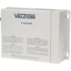 Valcom Power with 3 Zone Talkback Page Control