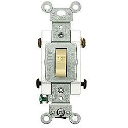 Leviton 20 Amp Toggle Double-Pole AC Quiet Switch