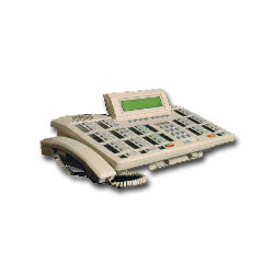 Nortel Meridian M2250 Attendant Console with Handset & 2 Prong Plug