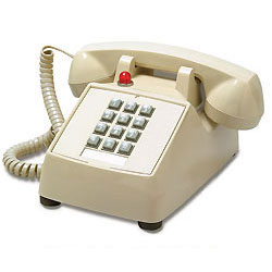 MISC Single-Line Desk Phone with Message Waiting/Data Port