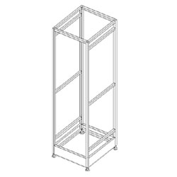 Southwest Data Products Patch Panel Frame 72