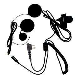 Pryme SPM-800 HIGHWAY Series Medium Duty In-Helmet Microphone for Full-Face Helmets for Motorola x03 Radios