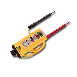 Ideal Vol-Con Tester with Resistor-Fused Leads