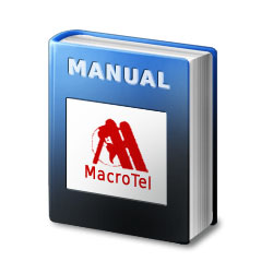 Macrotel MT-512/824/1236/2464 User Guide