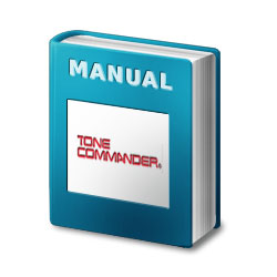 Tone Commander Centracom CTX Installation/Programming Manual