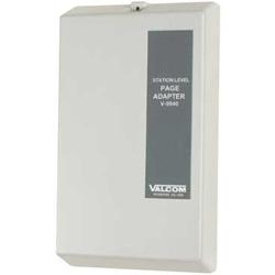 Valcom Station Level Page Adapter