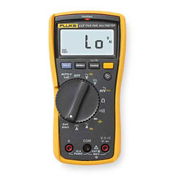 Fluke Electronics Electrician's Multimeter with Non-Contact Voltage