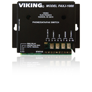 Viking Intelligent Line Sharing Device with Inbound Call Switching