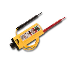 Ideal Voltage Tester with Standard Leads/Insulated Clips