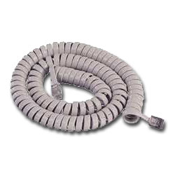 MISC Coiled Handset Cord (25')