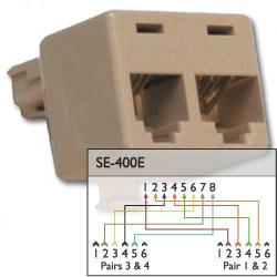 Suttle 8-Conductor Modular Adapter