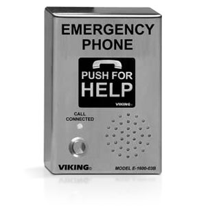 Viking A.D.A. Approved Emergency / Elevator Phone with Voice Announcer and Auto Dialer