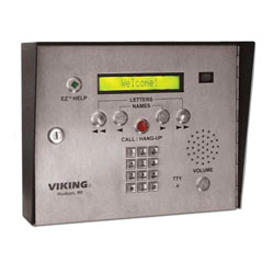 Viking ADA Compliant Entry System with Color Video Camera