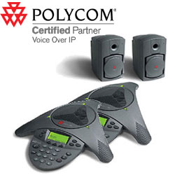 Poly SoundStation VTX 1000 Conference Phone with Subwoofer - Twin Pack