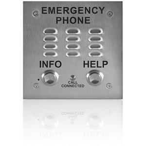 Viking A.D.A. Compliant Emergency Speakerphone with Enhanced Weather Protection, Built-in Auto Dialer and Digital Announcer