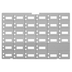 Avaya Designation Paper Strip for MLS 34D Phones