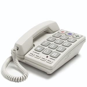 ITT Cortelco EZ Touch Large Dial Phone