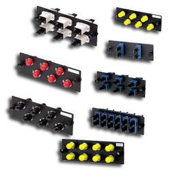 Panduit® 6-Port Fiber Adapter Panel, SC Duplex Loaded