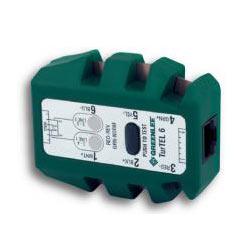Greenlee TurTEL 6 - Modular Adapter/Polarity Tester