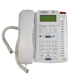 ITT Cortelco Enhanced Colleague Two-Line Corded Telephone