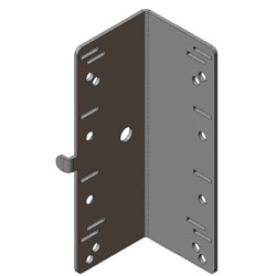 Chatsworth Products Mega-Frame and Steel-Frame PDU Mounting Bracket