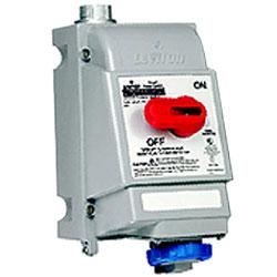 Leviton Pin and Sleeve Mechanical Interlock 20A 240V PowerSwitch