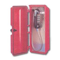 Allen Tel Single Line Push Button Tone Dial Phone - ADA Compliant