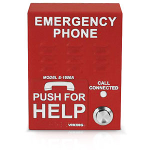 Viking ADA Compliant Emergency Phone with Enhanced Weather Protection