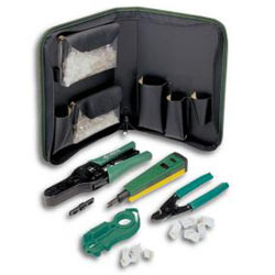 Greenlee Voice and Cat 5 Data Termination Kit