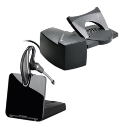 Plantronics CS530 Over-The-Ear Wireless DECT Headset System with HL10 Lifter