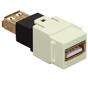 Allen Tel Versatap USB 2.0 Female A to Female A Coupler (Package of 10)
