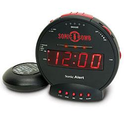 Sonic Alert Sonic Bomb Alarm Clock