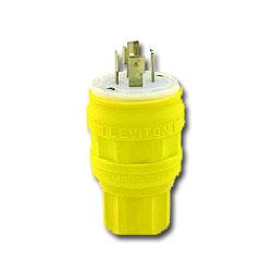 Leviton Wetguard Locking Plug