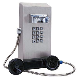 Ceeco Vandal Resistant Stainless Steel Rugged Telephone