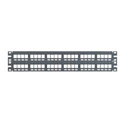 Panduit® NetKey 48-Port Flush Mount Modular Patch Panel