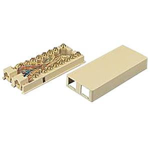 Allen Tel Modular Duplex Surface Jack