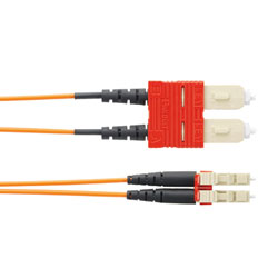 Panduit® NetKey SC to LC, OM1, LSZH, Duplex Patch Cord