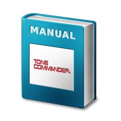 Tone Commander Centracom CTX Installation/Programming Manual