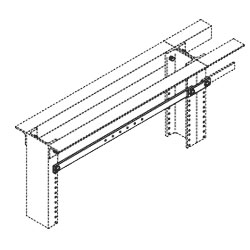 Chatsworth Products Horizontal Rack Busbar