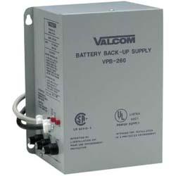 Valcom Battery Back-Up Power