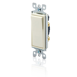 Leviton Decora Single-Pole Illuminated Designer Rocker Switch