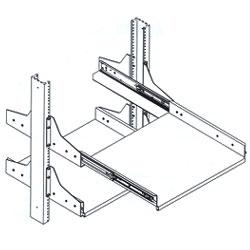 Chatsworth Products Sliding Equipment Shelf