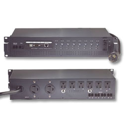 MINUTEMAN Office 20 Amp Remote Power Manager with 8 NT shutdown ports