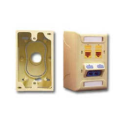ICC Faceplate Junction Box - Single Gang
