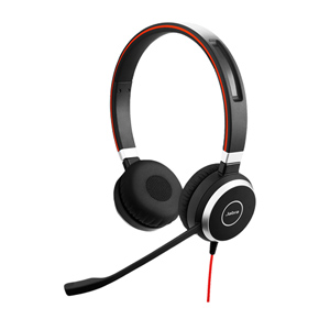 Jabra Evolve 40 Unified Communications Corded Headset (Stereo)