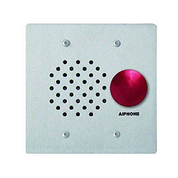 Aiphone Stainless Steel Vandal and Weather Resistant Sub
